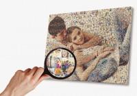 Фото на мозаике.